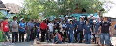 Case reabilitate de voluntari la Piatra Olt